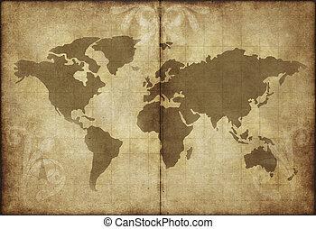 γηραιά ήπειρος , χάρτηs , περγαμηνή , χαρτί