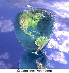 γη , ευφυής , μήλο , πλοκή