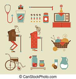 γιαγιά , απεικόνιση