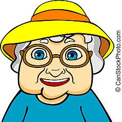 γιαγιά , γριά