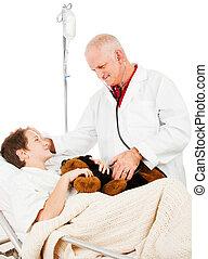 γιατρός , ασθενής , εμπιστεύομαι
