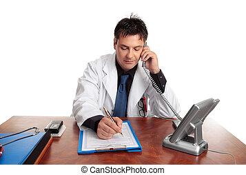 γιατρός , γέμιση ακάλυπτος , ανεκτικός αναγράφω