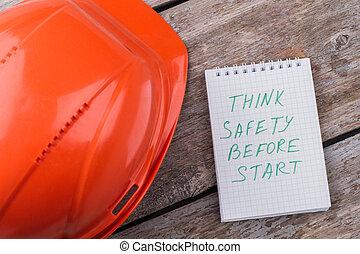 για , ασφάλεια , αρχή , πριν , κρίνω , working.