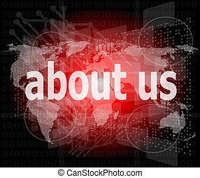 για , γενική ιδέα , επιχείρηση , εμάs , οθόνη , pixelated , λόγια , ψηφιακός