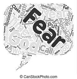 για , γενική ιδέα , λέξη , φόντο , εδάφιο , αλήθεια , φόβος , σύνεφο