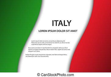 γινώμενος , διάστημα , ιταλία , σύμβολο , ελεύθερος , σημαία , μικροβιοφορέας , εδάφιο , φόντο , ιταλίδα , δικό σου , εικόνα