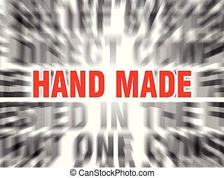 γινώμενος , χέρι
