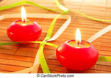 γιορτή , κερί