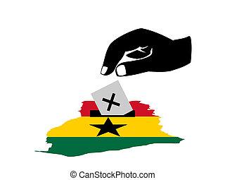 γκάνα , ψηφοφορία , εκλογή