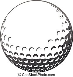 γκολφ μπάλα