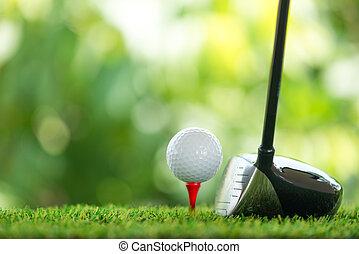 γκολφ , οδηγώ