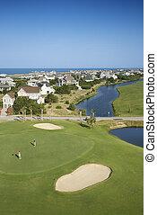 γκολφ , course., ακτοπλοϊκός