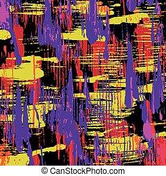 γκράφιτι , επάνω , ένα , μαύρο φόντο , μικροβιοφορέας , εικόνα