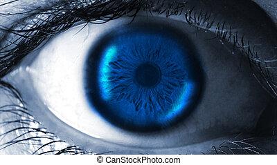 γκρο πλαν , ανθρώπινος , eye.