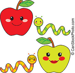 γλυκός , φίλοι , μήλο