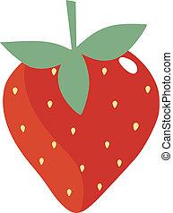 γλυκός , φράουλα