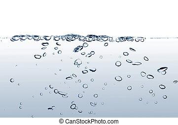 γλυκό νερό , με , αφρίζω
