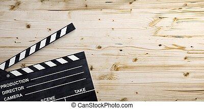 γλώσσα κωδώνος , ταινία , εικόνα , ξύλινος , surface., 3d