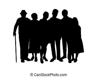 γονείς , περίγραμμα , μικρόκοσμος , παππούς και γιαγιά , οικογένεια
