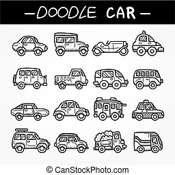 γράφω άσκοπα , θέτω , γελοιογραφία , αυτοκίνητο , εικόνα