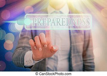 γράψιμο , περίπτωση , ζωή , λέξη , δηλώνω , έτοιμος , εδάφιο , απροσδόκητος , γενική ιδέα , ποιότητα , preparedness., ή , events., επιχείρηση