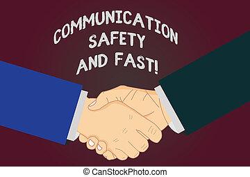 γράψιμο , σημείωση , εκδήλωση , επικοινωνία , ασφάλεια , και , fast., επιχείρηση , φωτογραφία , showcasing, ασφάλεια , γρήγορα , ταχύτητα , μέσα , διαβιβάσεις , hu , ανάλυση , αλκοολικός τρόμος ανάμιξη , επάνω , συμφωνία , σήμα , από , σεβασμός , και , honor.