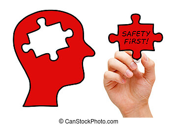 γρίφος , γενική ιδέα , ασφάλεια , κεφάλι , πρώτα