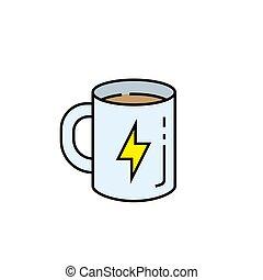 γραμμή , καφε , εικόνα