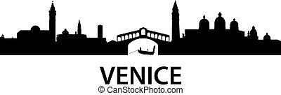 γραμμή ορίζοντα , βενετία