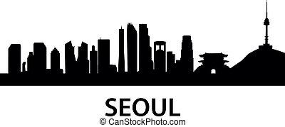 γραμμή ορίζοντα , seoul