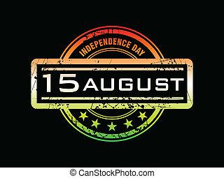 γραμματόσημο , αφαιρώ , ημέρα , ανεξαρτησία