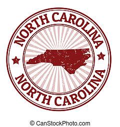 γραμματόσημο , βόρεια carolina
