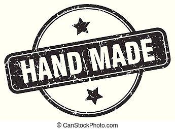 γραμματόσημο , γινώμενος , grunge , χέρι