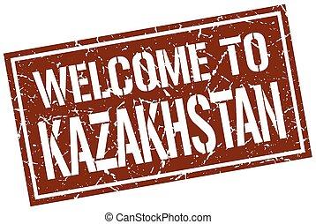 γραμματόσημο , καλωσόρισμα , καζακστάν