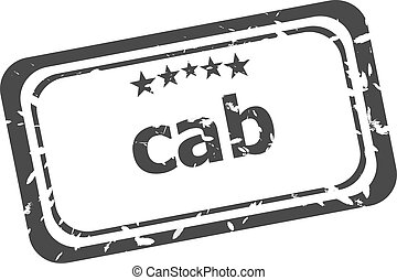 γραμματόσημο , πάνω , φόντο , ταξί , λάστιχο , άσπρο