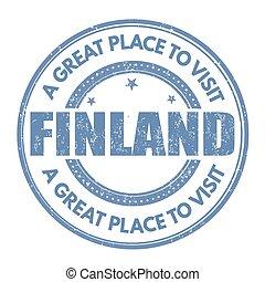 γραμματόσημο , φινλανδία