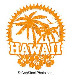 γραμματόσημο , χαβάη