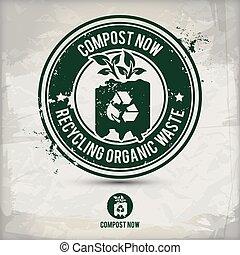 γραμματόσημο , composting, εναλλακτικός