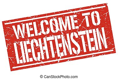γραμματόσημο , liechtenstein , καλωσόρισμα