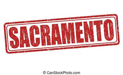 γραμματόσημο , sacramento