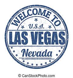 γραμματόσημο , vegas , καλωσόρισμα , las
