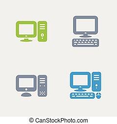 γρανίτης , υπολογιστές , - , desktop , απεικόνιση