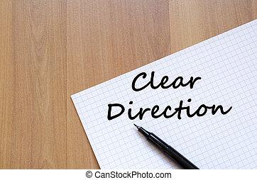 γραφή , καθαρά , σημειωματάριο , κατεύθυνση