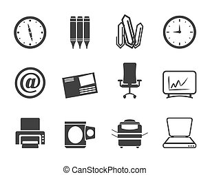 γραφείο , εργαλεία , απεικόνιση , επιχείρηση