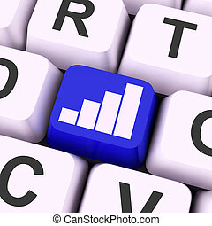 γραφική παράσταση , κλειδί , μέσα , δεδομένα , ανάλυση , ή , στατιστική