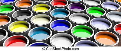 γραφικός , απεικονίζω cans , φόντο , 3d , εικόνα