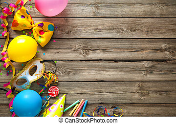 γραφικός , γενέθλια , ή , καρναβάλι , φόντο