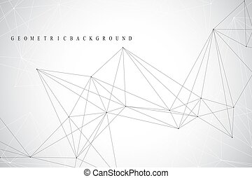 γραφικός , δίκτυο , dots., presentation., αφαιρώ , polygonal...