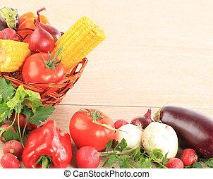 γραφικός , λαχανικό , κορνίζα