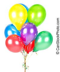γραφικός , balloons., αναγνωρισμένο πολιτικό κόμμα διακόσμηση